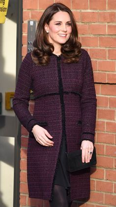 Kate Middleton (and Her Flawless Blowout!) Steps Out in Her Best Pregnancy Style Yet
