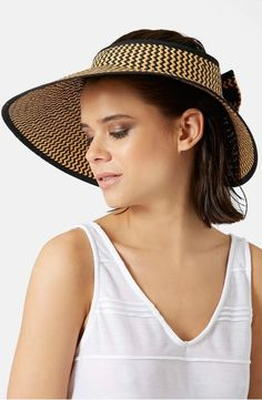 926a5e2d642 Topshop Woven Chevron Straw Hat Chevron Patterns