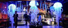 Águas vivas com lindo efeito de iluminação! Vários tamanhos e cores! Seu Evento com visual incrível de decoração e iluminação! Conheça nossa coleção - loja virtual www.refinatta.com !!