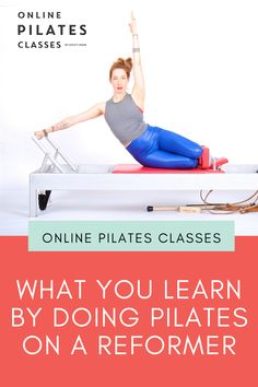 Pilates on the Reformer is more than just a great way to work your muscles. It's also an excellent way to learn more about how you connect to your body and more. #reformer #pilates #pilatesexercises #pilatesbeginner #beginnerexercises #pilatesreformer Pilates Body, Pilates Reformer, Pilates Workout, Butt Workout, Arm Toning Exercises, Fitness Exercises, Fitness Tips, Fit Board Workouts, At Home Workouts