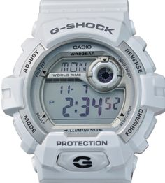 CASIO MENS WATCH | G-SHOCK | LARGE CASE DIGITAL / WHITE | G8900A-7 | NEW RETAIL #Casio