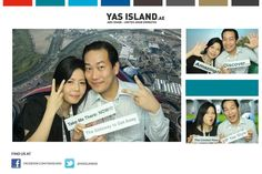 Hope you had fun at the Yas Island photobooth with Photobooth-ME at Arabian Travel Market. Upload your photo to our special COMPETITION TAB on Facebook to WIN an awesome weekend getaway on Yas Island!