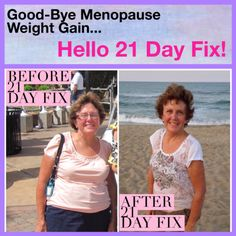 Menopause weight loss formula!