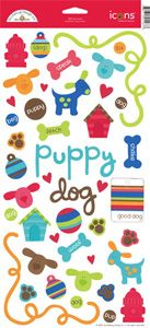 Doodlebug Design - Bow Wow Dog Collection - Cardstock Stickers - Bow Wow at Scrapbook.com $1.89