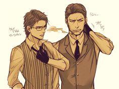 The Evil Within Sebastian & Joseph. clothes swap