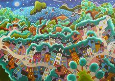 Irish Artist Shane Johnson   Shane Johnson Artist Ireland, Irish, Handmade, Painting, Ideas, Hand Made, Irish Language, Paint, Draw