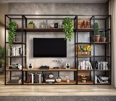 Home Room Design, Home Office Design, Home Interior Design, Living Room Designs, House Design, Home Decor Furniture, Furniture Design, Living Room Tv, Cement Tiles