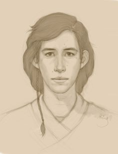 kiara-ren: rainymary: Young Ben Solo I have stared at this for at least 17 minutes.