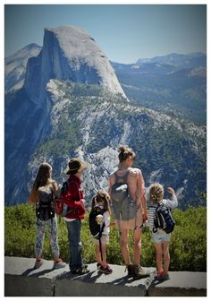 Hiking with kids from Glacier Point down to Yosemite Valley. See how we did it.