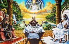 IBORÚ IBOYA IBOCHECHE (Pataki)  Olofin había llamado a los Babalawos para preguntarles dos cosas. Como ninguno le había adivinado lo que él quería, los fue apresando y afirmó que si no eran capaces de adivinar, los iba a castigar a todos. El último que mandó a llamar fue a Orula, el que ensegui... IBORÚ IBOYA IBOCHECHE