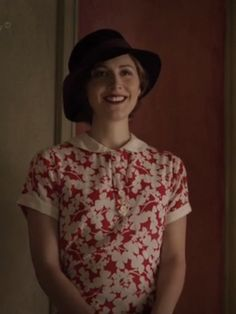 Just Skirts and Dresses: Poirot Series- I think this dress from the final Poirot series is made from Liberty fabric.