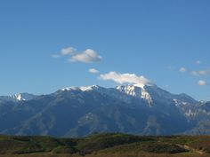Mount Olympos from Katerini