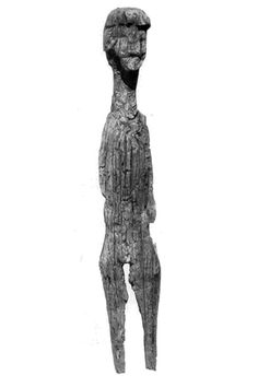 Early medieval West Slavic idol discovered in Altfriesack, Germany.