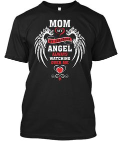 Mother's Day T Shirt | Best Mom T Shirt Black T-Shirt Front