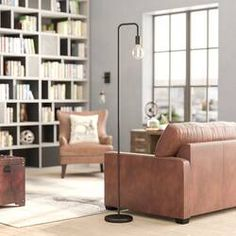 """Williston Forge Carlisle 70"""" Reading Floor Lamp & Reviews   Wayfair Solid Wood Coffee Table, Coffee Table With Storage, Tree Floor Lamp, Floor Lamps, Extendable Coffee Table, Etagere Bookcase, Ladder Bookcase, Torchiere Floor Lamp, 5 W"""