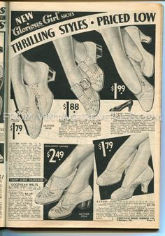 Glorious shoes for women - heels and #1930s #summer  #shoe fashions