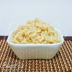 Quinoa na Pressão (Quinua)