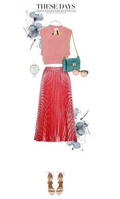 """These days"" by fanfan-zheng ❤ liked on Polyvore featuring I Love Mr. Mittens, Lanvin, Aquazzura and STELLA McCARTNEY"