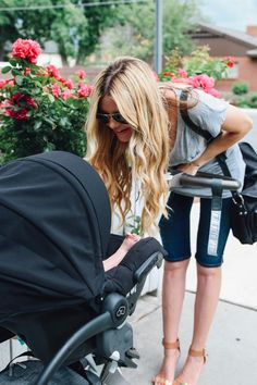 Barefoot Blonde Blog :: Stokke Xplory stroller with Maxi Cosi Infant Car Seat