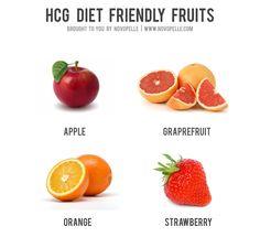 HCG diet friendly fruits