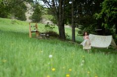 Haz un sencillo patio trasero jugar fuerte   Limpio.  www.lusaorganics.typepad.com