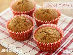 Carrot Muffin Recipe - A Spoonful of Sugar