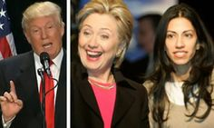 Donald Trump responds to new Huma Abedin scandal that the press wants to bury