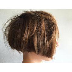 """✂️ @hairajudygirl✂️ Hair by @hairajudygirl ・・・ Second look, same cut #2ndlook #haircut #hairstyle #hotd #bob #shorthair #hairbyjudysong…"""