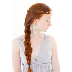 Gisla's hair in S3E8. Just a simple large side braid and some hair twisted around a circlet, as this is the episode when the Vikings attack Paris and there's no use for fancy complicated hair when you're under attack haha.  I'm approaching the end of this Vikings series, with only two more styles to go after this one. What would be a cool show or movie series to do next?