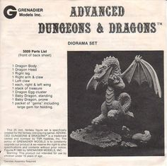 Grenadier Advanced Dungeon and Dragons 5000 Series Boxed Sets