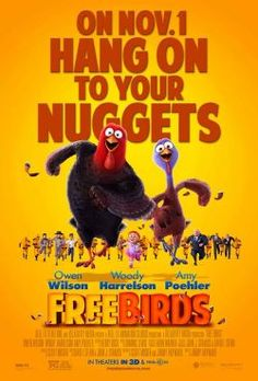 Check out our review of #FreeBirds with Owen Wilson, Woody Harrelson and Amy Poehler (plus watch the trailer!) #movie #reviews