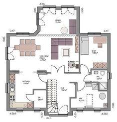Landhaus mit Sylter Charme - ECO System HAUS