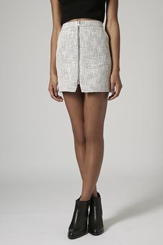 Photo 3 of Boucle Zip Pelmet Skirt