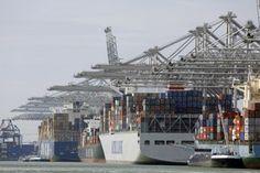 Havens Rotterdam grootste Containerterminals ECT maasvlakte