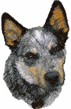 Advanced Embroidery Designs - Australian Cattle Dog