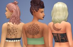 stargirl-sims  2000+ Followers Gift - Part 3    My first tattoos! I had a lot of fun making these (after the extreme frustration initially) and I really like how they came out. They may not be perfect, but I hope you like them as much as I do!    Info    8 swatches  Custom thumbnails  Read my TOU Here!  DOWNLOAD (Simfileshare)