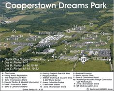 cooperstown dreams park - Google Search Travel Baseball, Baseball Mom, Softball, Cooperstown Dreams Park, Cooperstown New York, Field Of Dreams, Call My Mom, Kids Sports, Travel Ideas