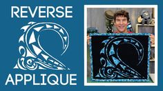 An Easy Reverse Applique Quilting Tutorial from Man Sewing