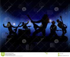 Rock Band Royalty Free Stock Photos - Image: 19161998