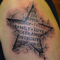Csillag Tetoválás Minták Képek - Westend Tattoo & Piercing