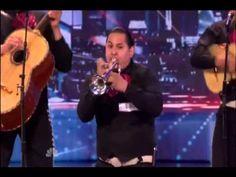 ▶ America's Got Talent 2013 - Mariachi Nuevo Estillo.