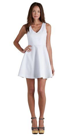 JOIE Norton Dress Porcelain   Little White Dress