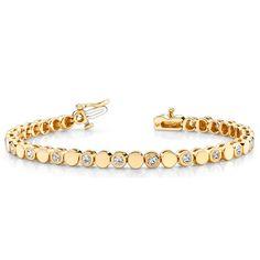 Diamantarmband 1.00 Karat aus 585er/750er Gelb- oder Weißgold  http://www.juwelierhausabt.de/products/de/Diamantarmbaender/Diamantarmband-100-Karat-aus-585er-750er-Gelb-oder-Weissgold4.html  #diamantarmband #diamonds #diamante #diamanten #gold #schmuck #diamantschmuck #juwelier #abt #dortmund