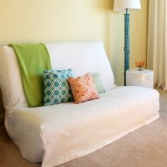 Tips For Sewing A Futon Slipcover Madigan Made Simple Diy Ideas Sofa