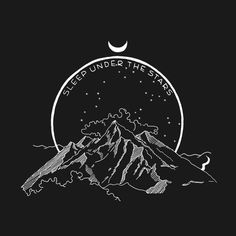 Bridge & Burn - Sleep Under the Stars - Bridge & Burn Aesthetic Iphone Wallpaper, Aesthetic Wallpapers, Simbolos Tattoo, Art Sketches, Art Drawings, Tattoo Graphic, Sleeping Under The Stars, Dark Wallpaper, Black Paper