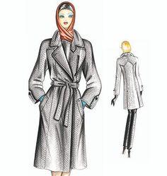 F2918   Marfy Coat   Coats / Capes   Shops@McCall