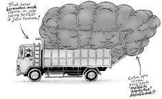 Kartun Benny, Tiga Manula Keliling Jawa: Truk Besar Bermuatan Aneh