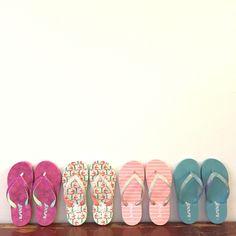 Mint Baby Infant//Girls Reef Little Stargazer Wrap Flip Flops with Ankle Strap