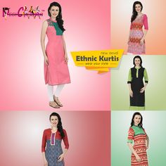 New range of Ethnic designer cotton kurtis have arrived, starts from Rs.549 Click here to buy : http://desichhokri.com/21-ethnicwear