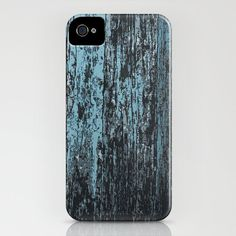 Barn Wood iPhone Case - Abstract Painting - Brazen Art - iPhone 5 5S 5C 4 4S 3G Case